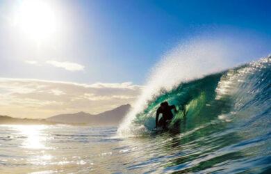 soñar con olas grandes